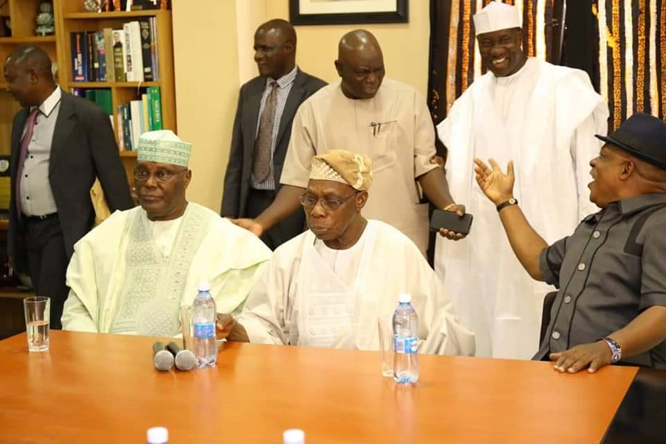 BREAKING: At Last, Obasanjo Endorses Atiku For President