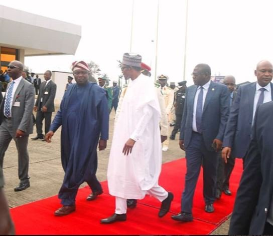 What Buhari Said Upon Completion Of Seme-Krake Border Project [Full Speech]