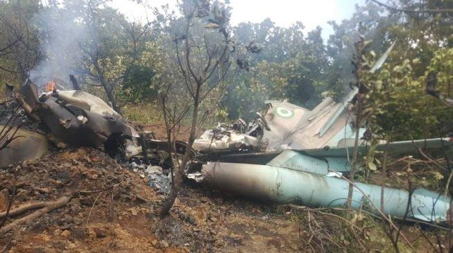Two Nigerian Military Jets Crash In Abuja