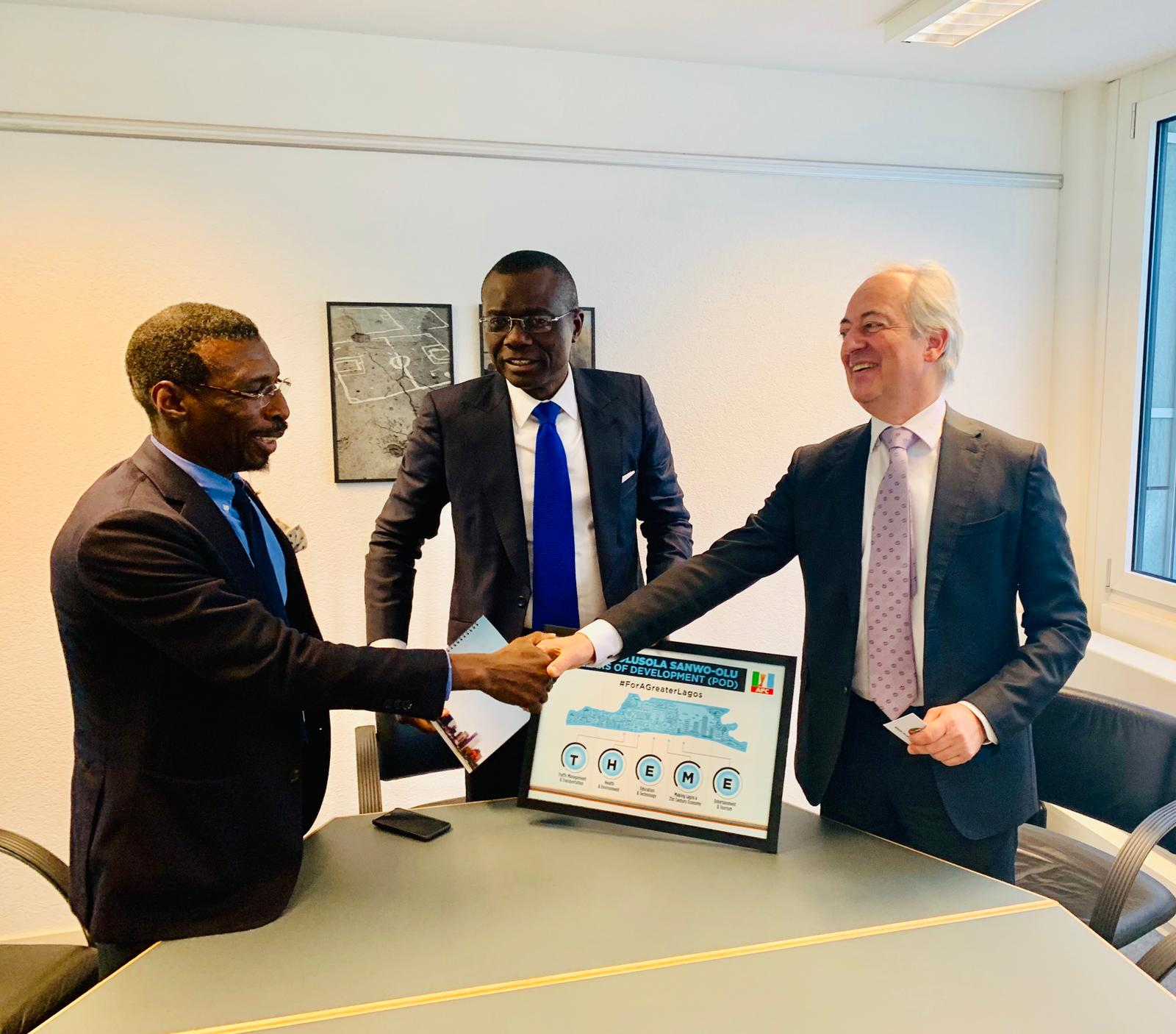 Sanwo-Olu Secures $5 Billion Trade Commitment From Swiss Investors