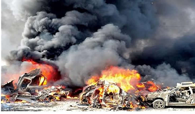 BREAKING: Multiple Explosions Rock Maiduguri On Election Day