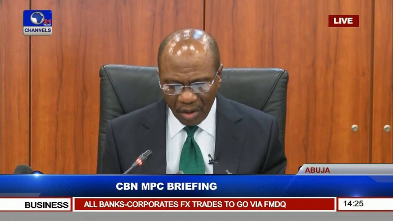 CBN Cuts Monetary Policy Rate to 13.50% from 14%