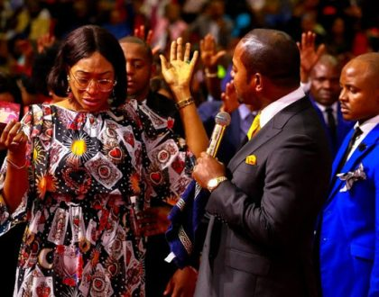 One of the strangest videos you'd see on social media today is that of Oge Okoye in tears as she visits controversialSouth Africanpastor, Alph Lukau ofAlleluia Ministries International.