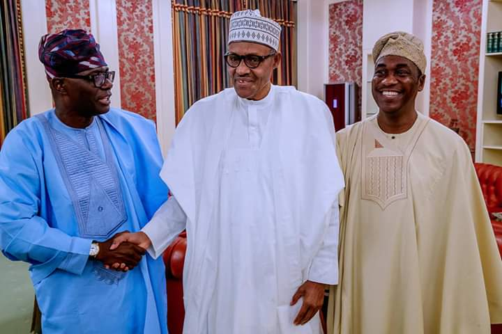 What I Discussed With Buhari In Abuja - Sanwo-Olu