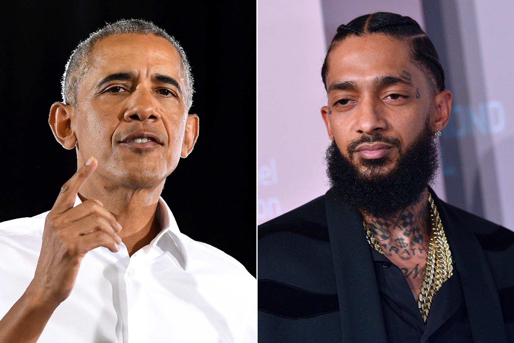 Former President of the United States of America Barack Obama celebrates the music, life, and legacy of Nipsey Hussle in an open letter, which Karen Civil shared on Twitter and read at a memorial service in Los Angeles Thursday.