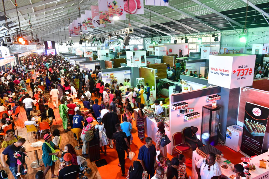All road leads to Plot 1, Water Corporation Drive Oniru, Lagos for this year's Food and Drink Festival organized by Guaranty Trust Bank (GTBank), showcasing 300 food entrepreneurs and will run for four days this year.