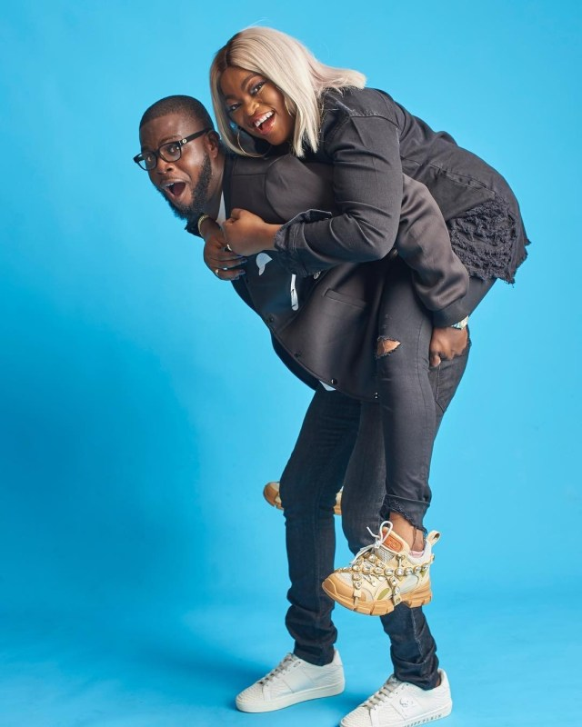 Love and laughter definitely abounds in the home of Nollywood star Funke Akindele Bello and her man Abdul Rasheed Bello popularly known as JJC Skillz. Not only do they constantly dish couple goals on social media, they are blessed with twin babies.