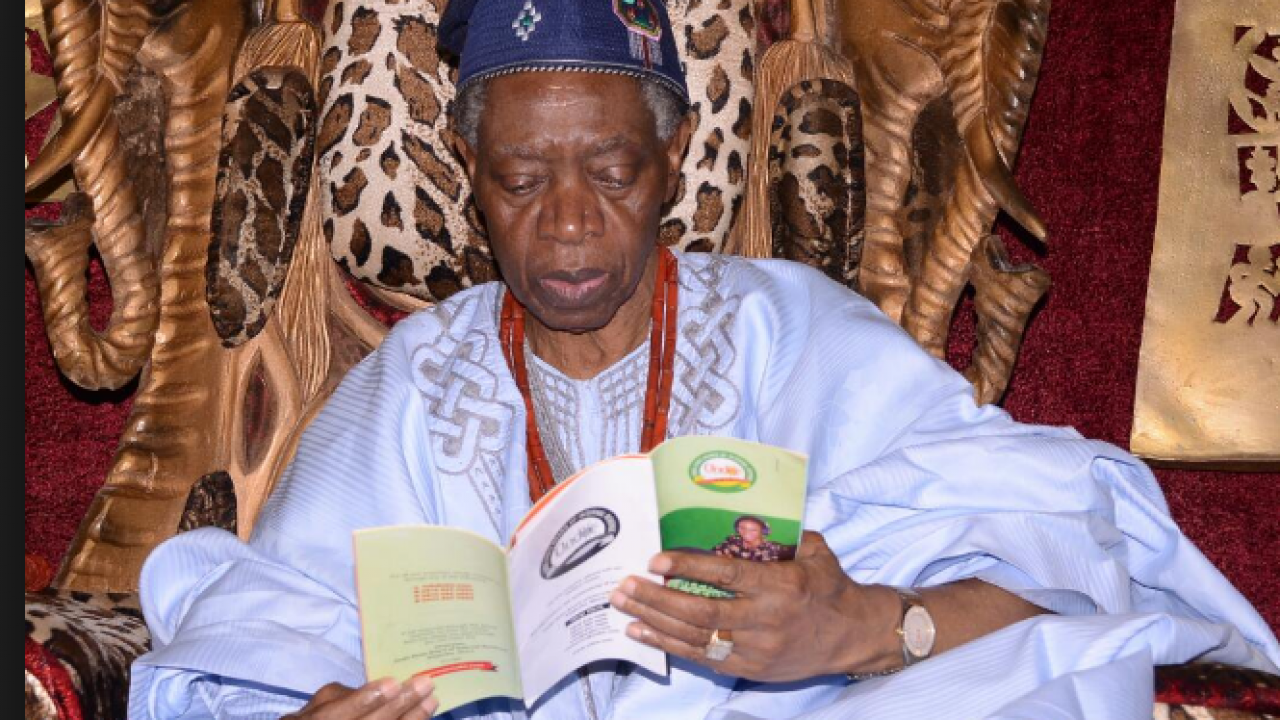 The Olowo of Owo town in Ondo State, Oba Folagbade Olateru Olagbegi, has passed away at the age of 77.