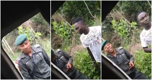 "A video of an angry police officer harassing a student of the Delta State University, after going through his phone and concluding ""it was too expensive,"" is making the rounds on social media."