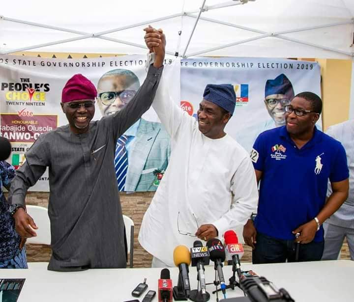 Despite the petition laid against the winner of the 2019 Lagos governorship election, Babajide Sanwo-Olu and his deputy-elect, Obafemi Hamzat by candidate of the Alliance for Democracy (AD), Mr. Owolabi Salis; and Prof. Ifagbemi Awamaridi of the Labour Party (LP) at the  State Governorship Election Tribunal, the Lagos State governor-elect on Tuesday said he was confident of victory at the Tribunal.