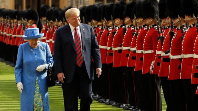 President Donald Trump has accepted Queen Elizabeth's invitation to make a state visit to Britain in June, Buckingham Palace said on Tuesday.