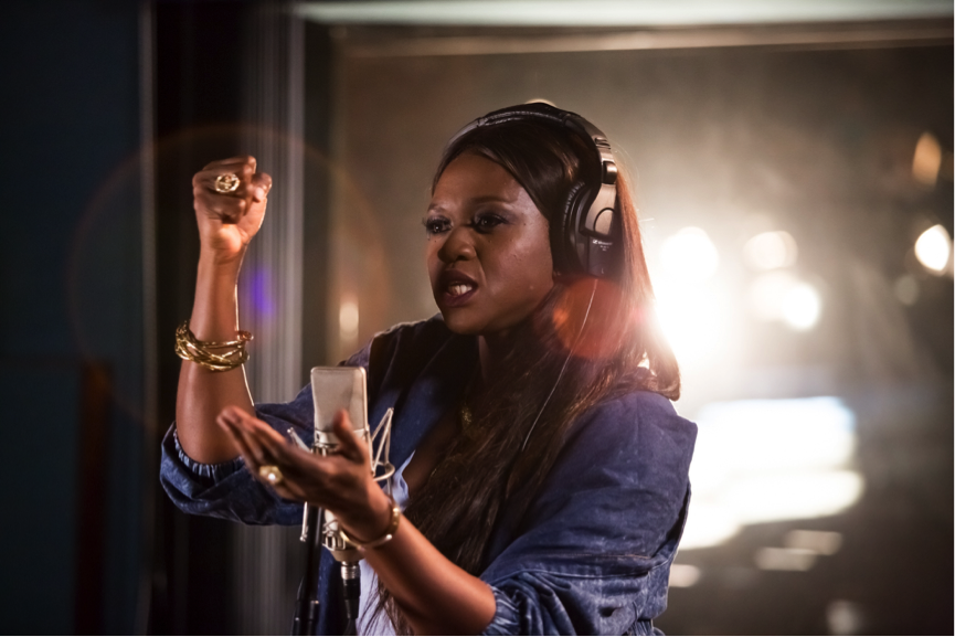 Africa News24 recalls that Waje recently disclosed she was going to quit music because it's not yielding profit for her and family and she had no money for promotion.