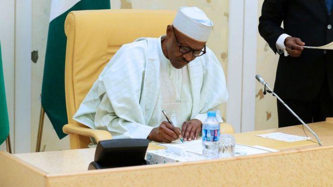 President Muhammadu Buhari has sent the ministerial list to Senate.