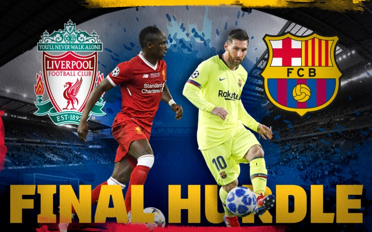 Liverpool and Barcelona have announced their first elevens for the crucial second leg Champion League semi-finals tonight.