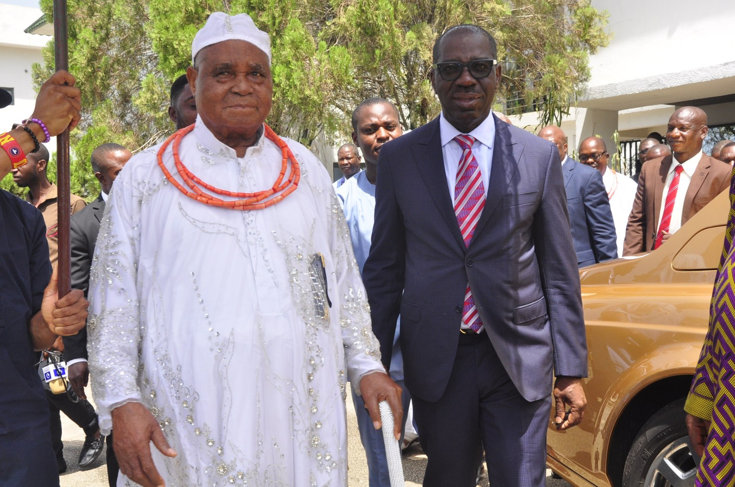 Edo State Governor, Mr Godwin Obaseki has received the endorsement of a prominent opposition party leader in the state, Chief Dr Gabriel Osawaru Igbinedion, who is also a Chieftain of the Peoples Democratic Party (PDP).