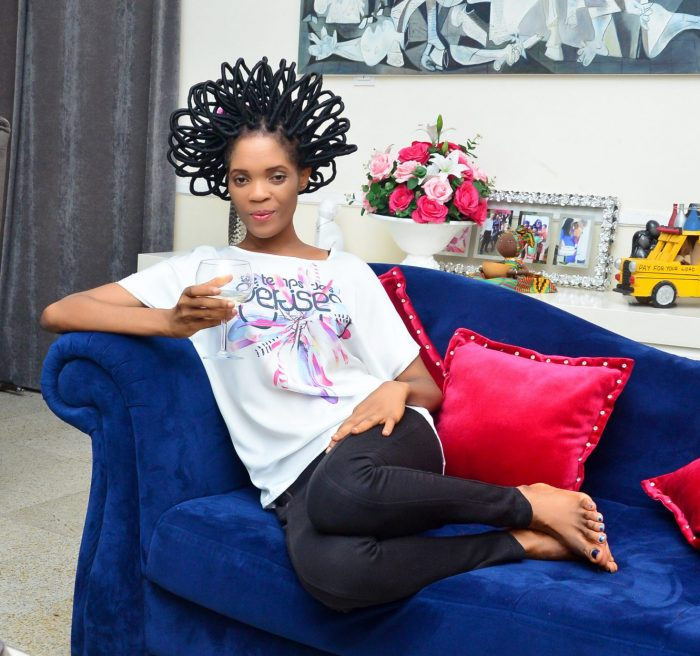 Former Model, Chika Lann, has released a video about her sexual life via her reality TV series.