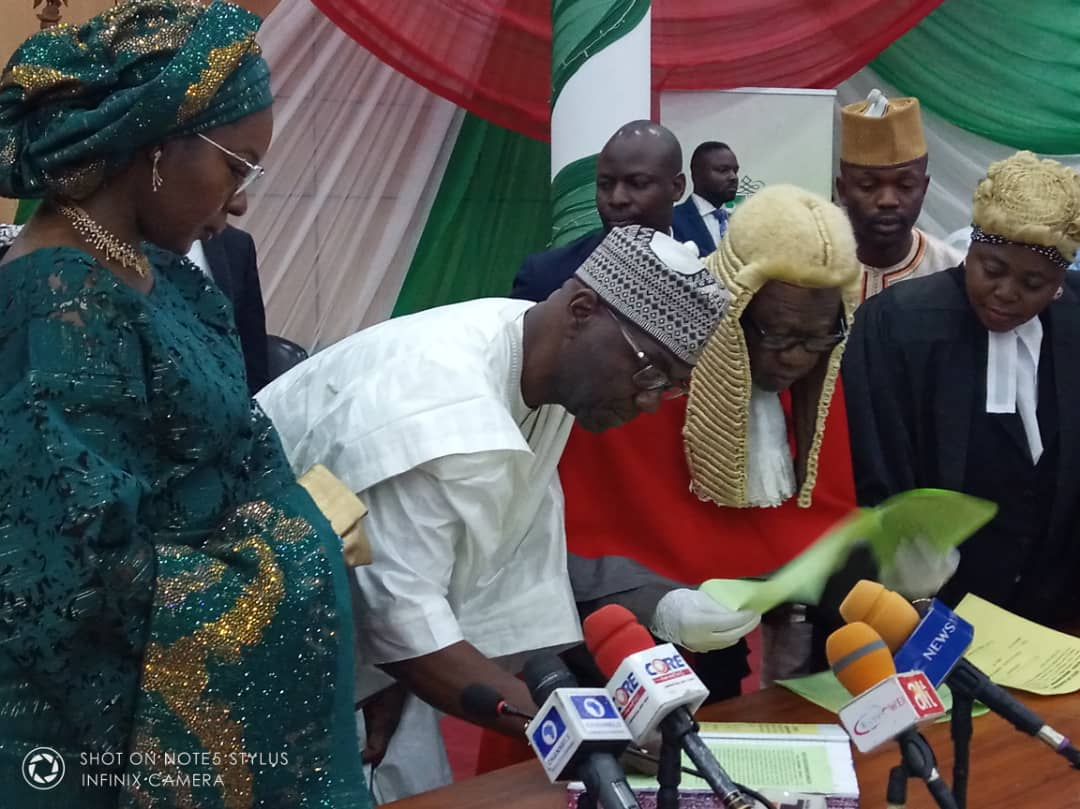 Newly sworn-in Governor of Kwara state, Alhaji Abdulrahman Abdulrasaq has described the victory that ushered in his tenure as a victory for all Kwarans.