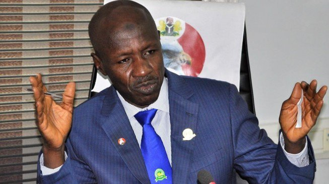 The Acting Chairman of the Economic and Financial Crimes Commission, EFCC, Ibrahim Magu has expressed sadness over the slow pace of action from the government of United Kingdom, (UK) on the corruption case, involving former Petroleum minister, Diezani Alison-Madueke.