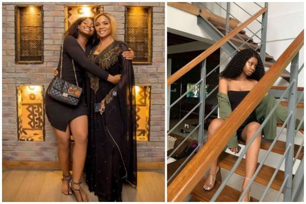 Priscilla Ojo, daughter of popular Nigerian actress, Iyabo Ojo, during a question and answer session on Instagram was asked numerous questions by her fans.