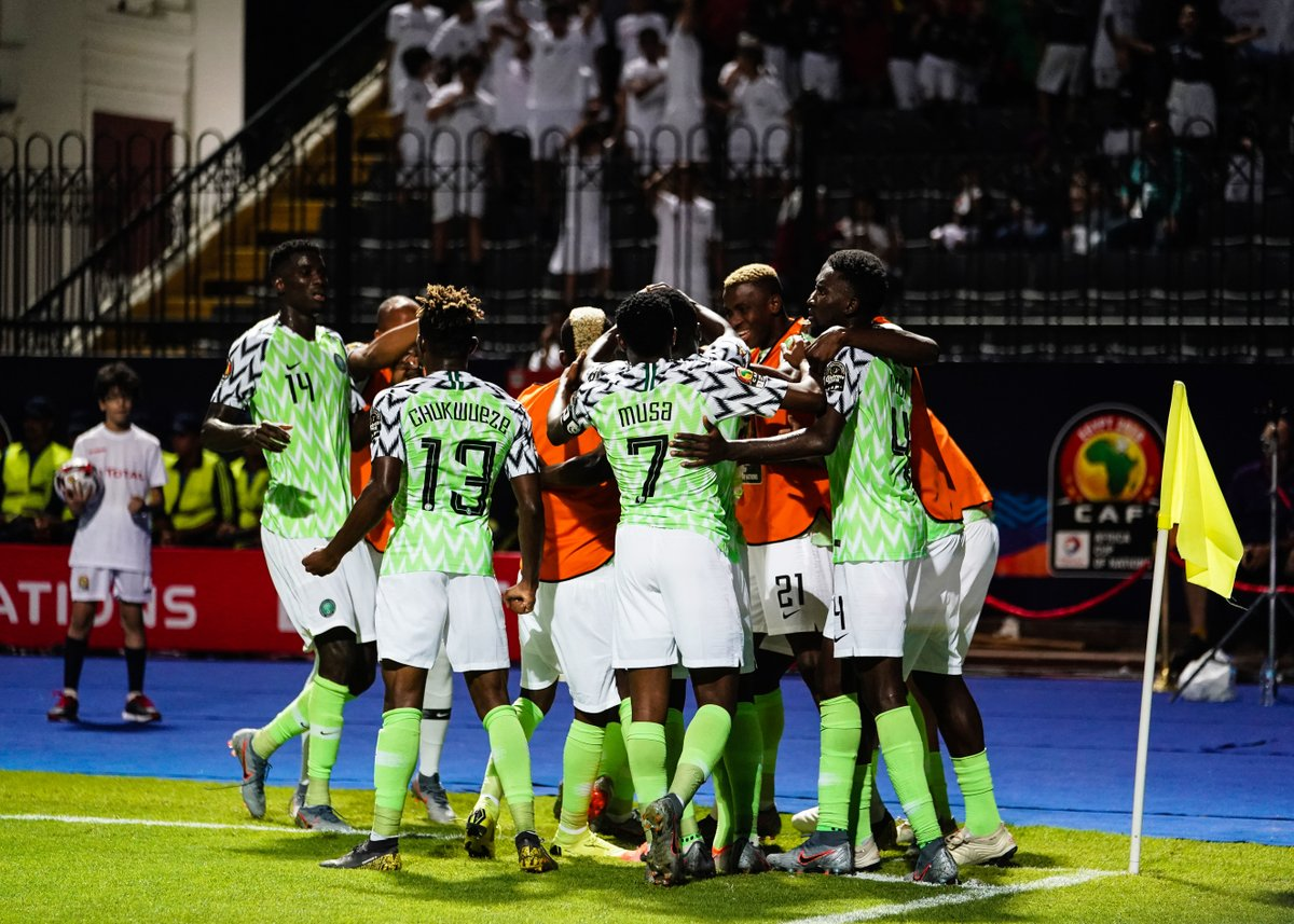 Kenneth Omeruo headed into the Guinean net a decisive goal in the 73rd minute, in the Super Eagles second match in Group B of the African Cup of Nations (AFCON).