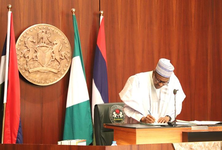 5 Trillion Naira Debt: Buhari Signs New AMCON Law