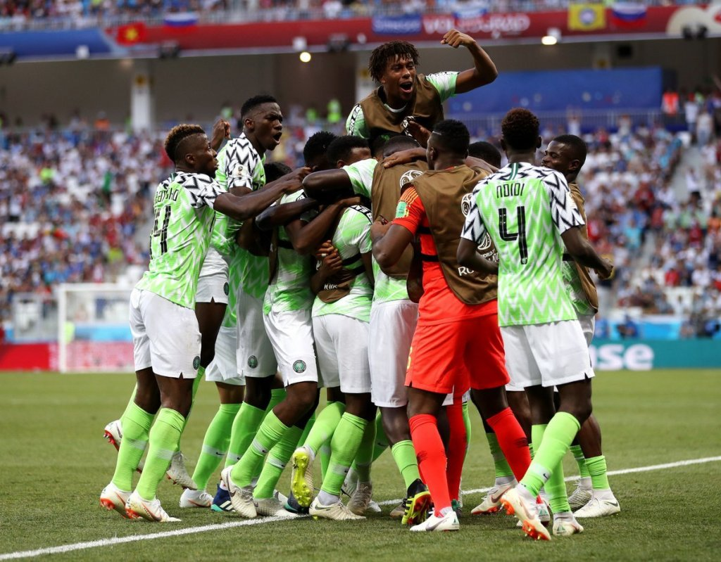The super eagles of Nigeria have taken an early lead over there the Bafana Bafana of South Africa in the quarter-final of the ongoing African Cup of Nation (AFCON) in Egypt.