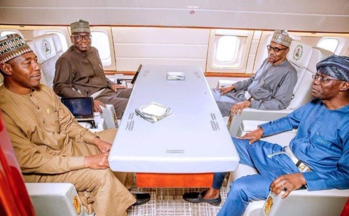#TICAD7: Buhari, Sanwo-Olu, Others Lands In Japan Amidst IPOB's Threat