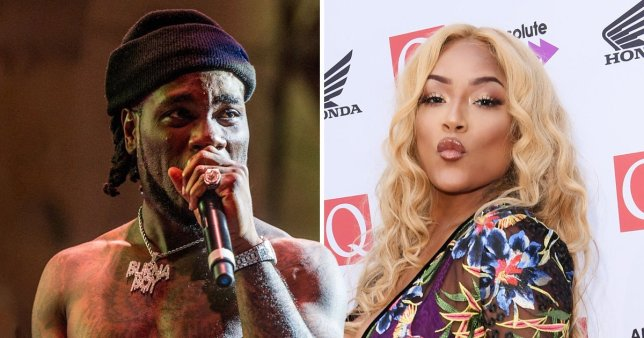 Steff Debunks Breakup With Burna