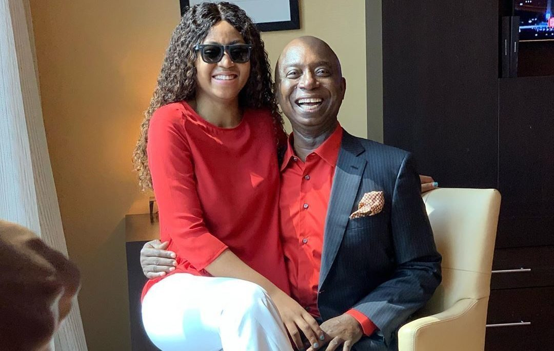 Regina Shares Official Photo With Husband Ned Nwoko