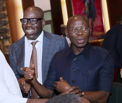 Amidst Feud Rumours, Oshiomhole Calls Obaseki His Brother