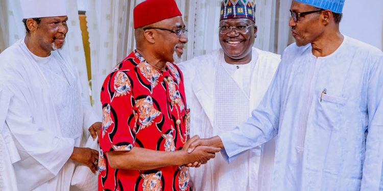The 9th Senate of the federal republic of Nigeria led by Senator Ahmed Lawan on Thursday paid a Sallah homage to President Muhammadu Buhari