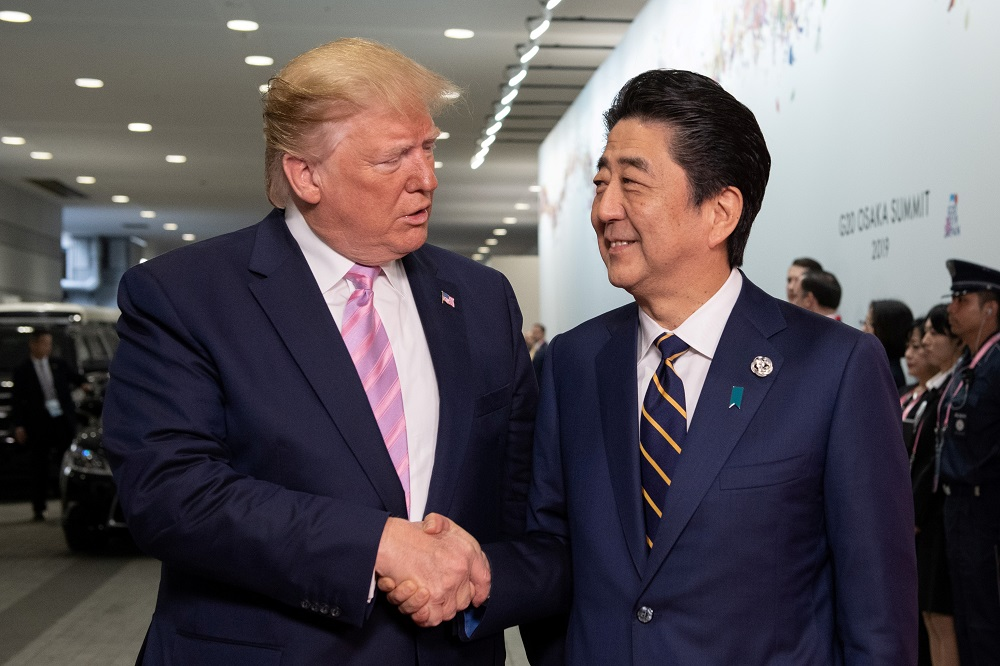 "US Is ""Very Close To A Major Deal With Japan- Trump"