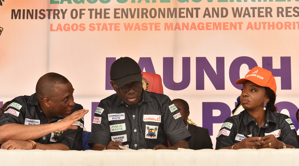 Lagos State Government has introduced a new culture of waste disposal and management with the launch of Blue Box Initiative on Thursday by Governor Babajide Sanwo-Olu.