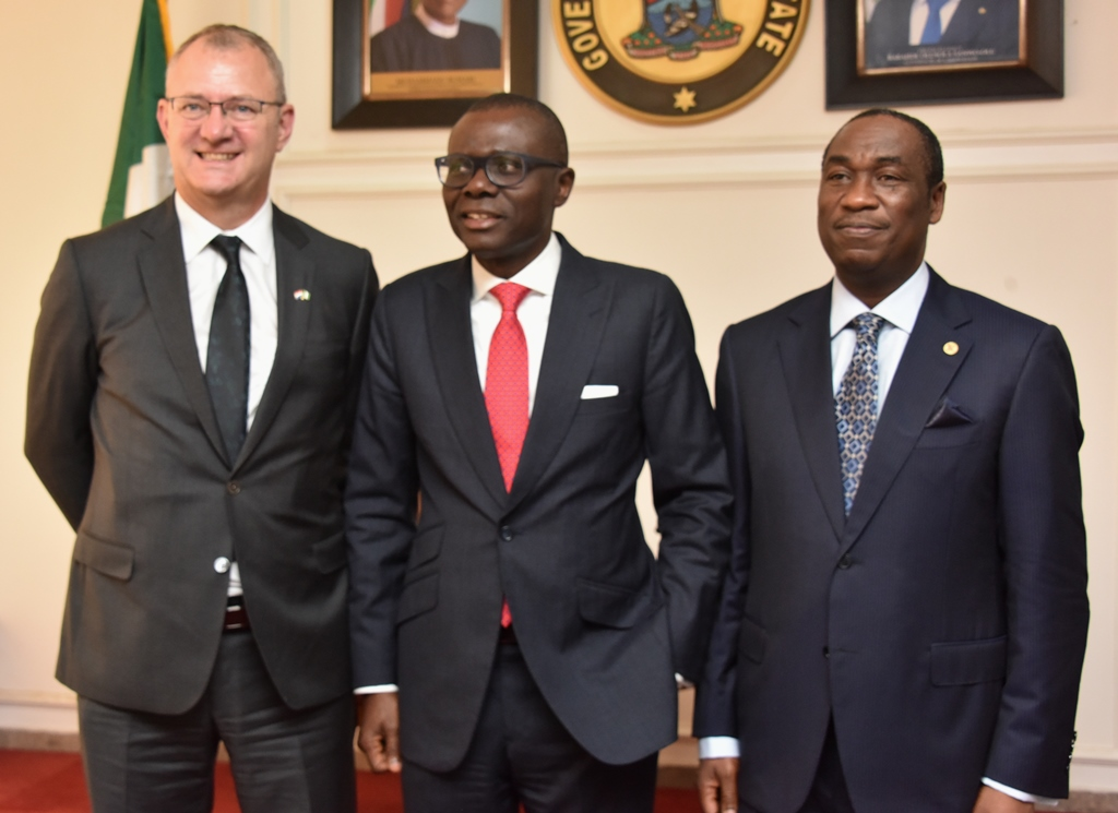 Sanwo-Olu Meets Dutch Delegates On Business Partnership