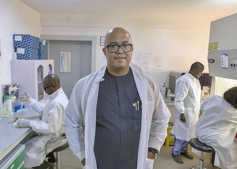 Dr Chikwe Ihekweazu