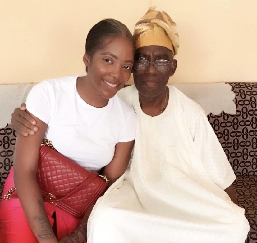 Singer Tiwa Savage Loses Dad